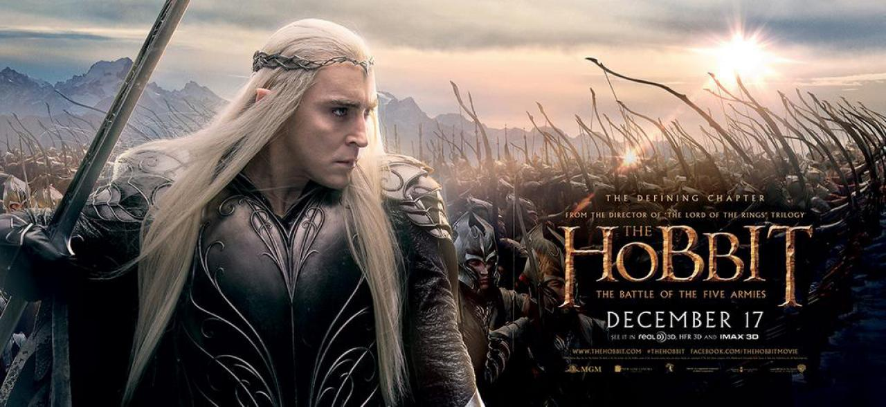 Banner và poster phim The Hobbit: The Battle of the Five Armies 7