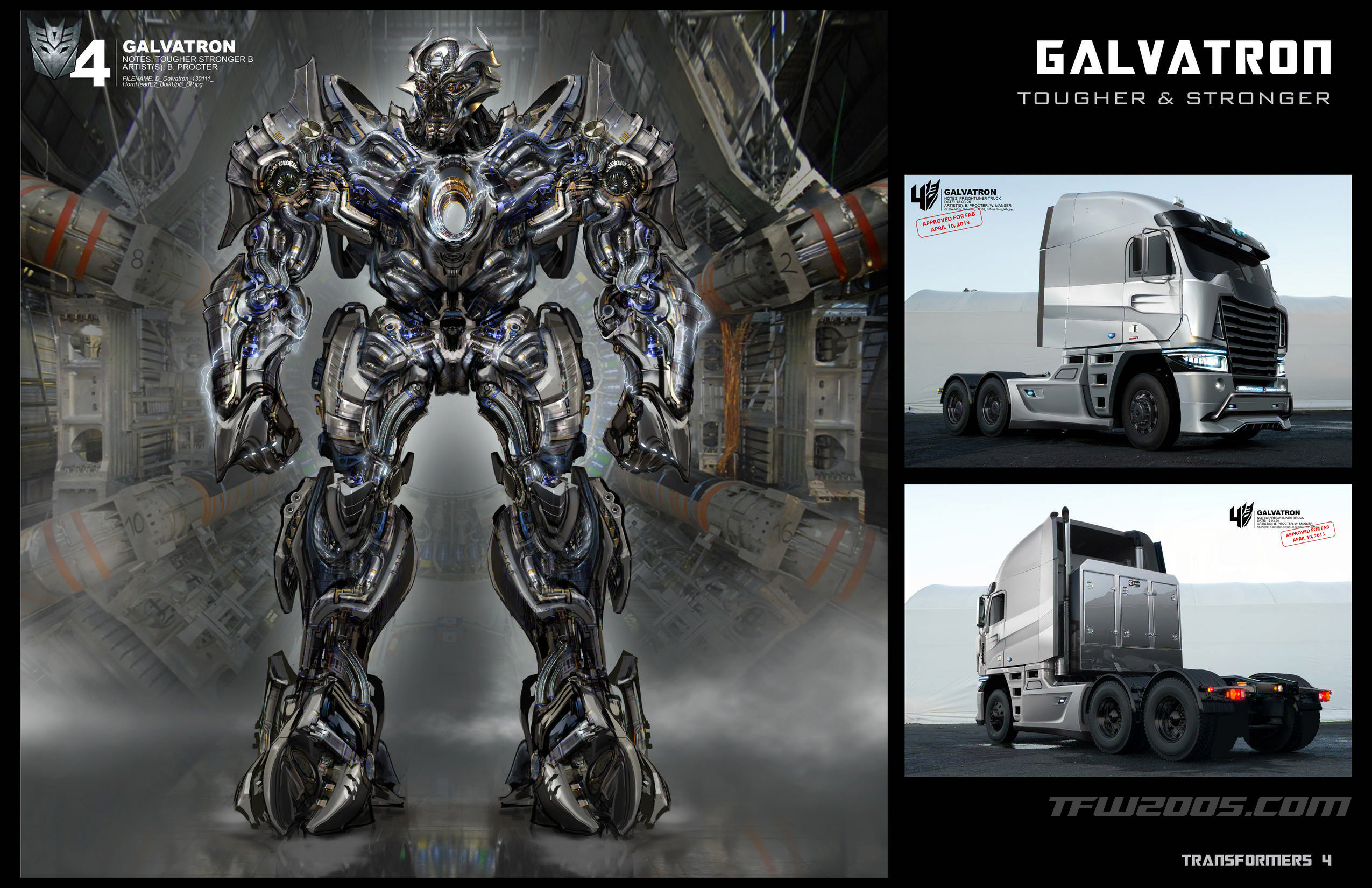 Loạt ảnh concept phim Transformers: Age of Extinction 3