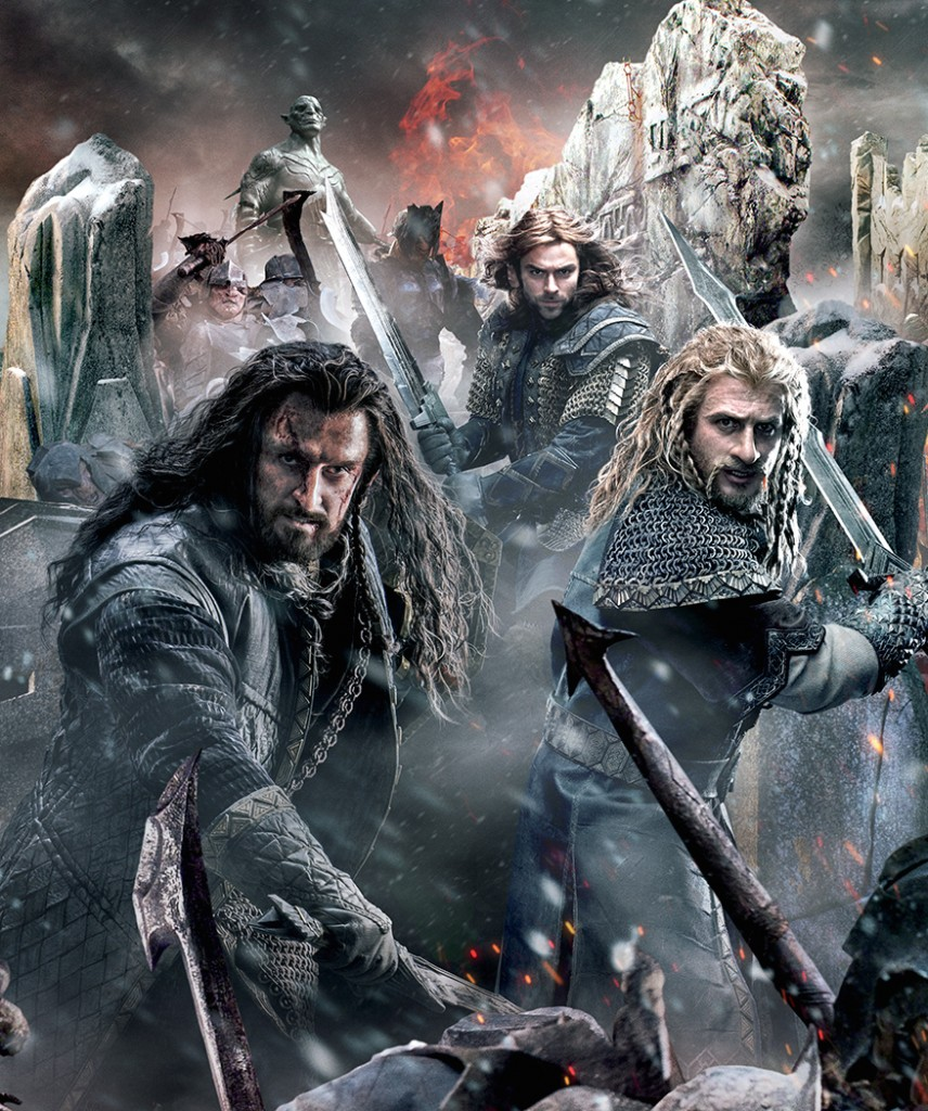 Poster và baner cực đẹp của phim The Hobbit: The Battle of the Five Armies 5