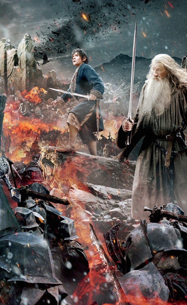 Poster và baner cực đẹp của phim The Hobbit: The Battle of the Five Armies 002
