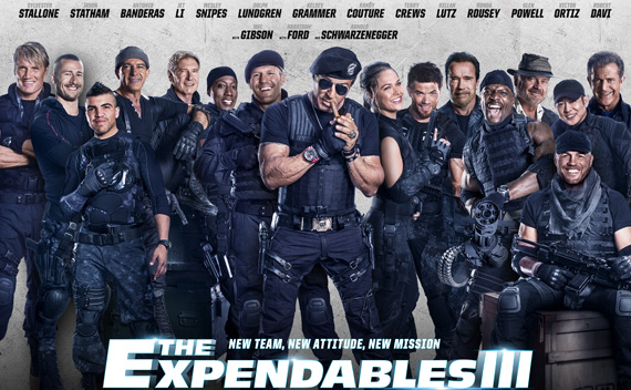 The Expendables 3 sẽ có bản unrated cut