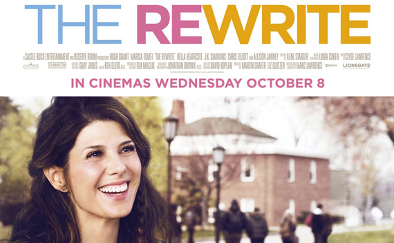 The Rewrite - 2014 - Official Trailer