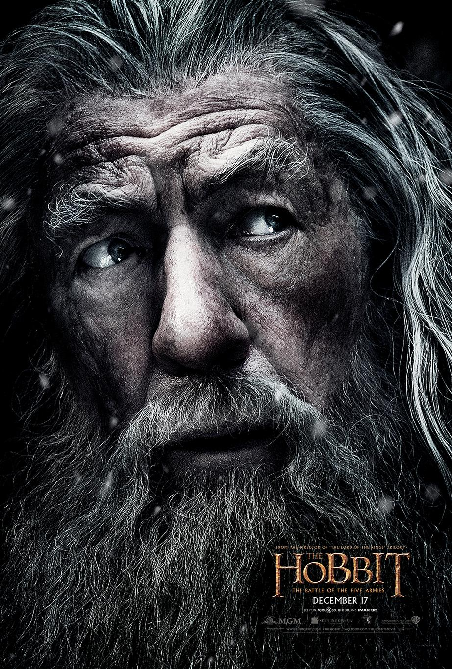 Update poster mới của phim The Hobbit: The Battle of the Five Armies 2