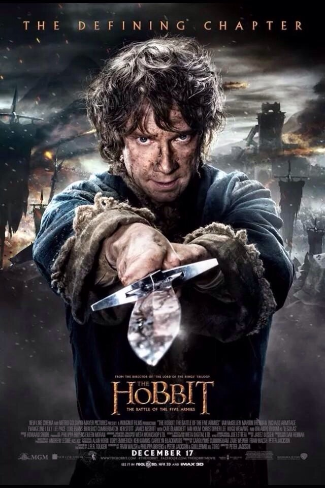 Update poster mới của phim The Hobbit: The Battle of the Five Armies